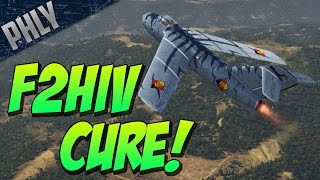 getlinkyoutube.com-War Thunder EPIC JET GAMEPLAY! LA-15 Cures The SPREAD OF F2HIV