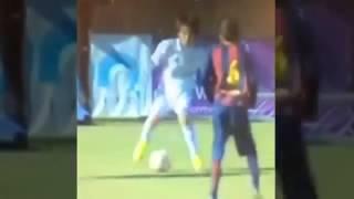 getlinkyoutube.com-Pipi, Takuhiro Nakai, El Oliver Atom Del Real Madrid Que Deslumbra Ante El Barca 1