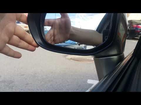 Honda civic 4D отломанное боковое зеркало