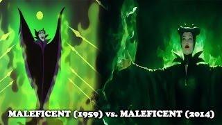 getlinkyoutube.com-Sleeping Beauty (1959) vs Maleficent (2014) [similarities]