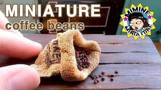 getlinkyoutube.com-미니어쳐 커피원두(&자루) 만들기 miniature - coffee beans