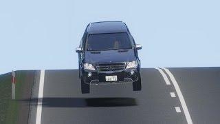 getlinkyoutube.com-Mercedes-Benz ML63 AMG drive (Links) - Racer: free game