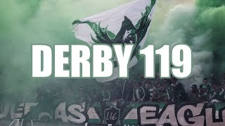 Curva Sud Magana : Ambiance & Craquage - Derby 119 (Ultras Eagles)