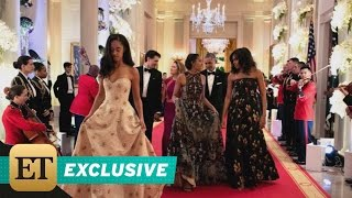 getlinkyoutube.com-EXCLUSIVE: Michelle Obama on Sasha and Malia Attending Their First State Dinner