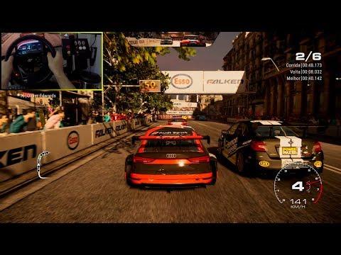 GRID 2019 - AUDI RS 3 LMS | Gameplay Steering Wheel Thrustmaster T300