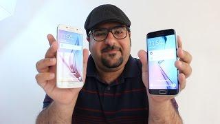 نظرة سريعة على الجالاكسي اس 6 والايدج - First look on Galaxy S6 and Edge