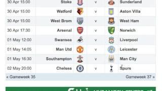 getlinkyoutube.com-Fantasy Football Barclays Premier League 2015/2016 - Gameweek 35