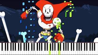 getlinkyoutube.com-Undertale // Bonetrousle // Piano