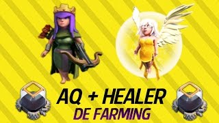 getlinkyoutube.com-AQ Healer (Superqueen) TH9 DE Farming