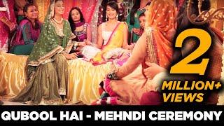 getlinkyoutube.com-Qubool Hai -   Mehndi Ceremony  BTS with Karan Singh Grover and Surbhi Jyoti