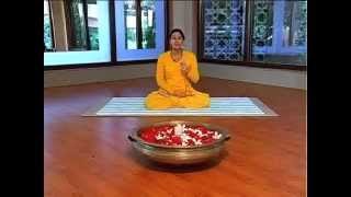 getlinkyoutube.com-YOGA for HEALTHY HAIR- BHARATYOGA by ACHARYAA PRATISHTHA SHARMA