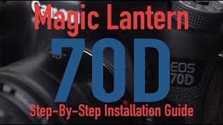 getlinkyoutube.com-Magic Lantern - Canon 70D Installation Guide (Mac)