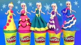 getlinkyoutube.com-Play Doh Elsa Flip 'N Switch Castle MagiClip Disney Frozen NEW PlayDough Sparkle Magic Clip