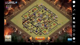getlinkyoutube.com-LIVE TH10 WAR ATTACK 3 Star Attempt! Success? Or Failure :(