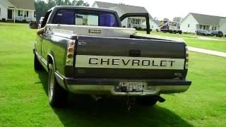 getlinkyoutube.com-loud chevy truck exhaust