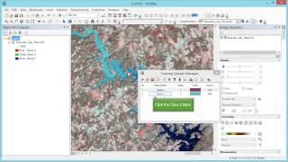 getlinkyoutube.com-Remote Sensing in ArcGIS Tutorial 19a: Supervised classification of Landsat Imagery