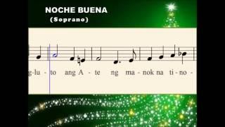 Q25a Noche Buena -  A Tagalog Christmas Song (Soprano)