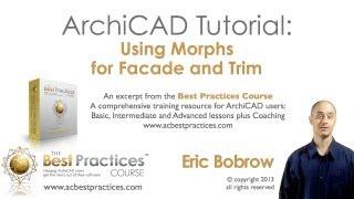getlinkyoutube.com-ArchiCAD Tutorial | Using Morphs for Facade and Trim