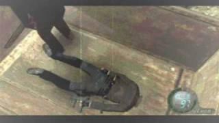 getlinkyoutube.com-Resident Evil 4 Funniest Death Scene