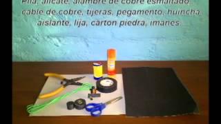getlinkyoutube.com-Motor eléctrico casero. Principios físicos y funcionamiento.