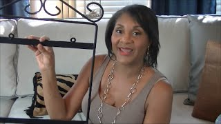 getlinkyoutube.com-Repurposeful Decorating:  Making New Things Out of Old Furniture & Accessories