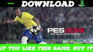 getlinkyoutube.com-Download Pro Evolution Soccer 2016 PC nosTEAM (Multi)
