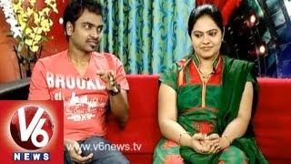 getlinkyoutube.com-Singers Gopika Poornima And  Mallikarjuna In Life Mates || V6 News