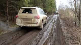 getlinkyoutube.com-Toyota Land Cruiser 200 Hard Off-road