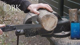 getlinkyoutube.com-The Best Bushcraft Saw: Silky Gomboy 210 Field-test!