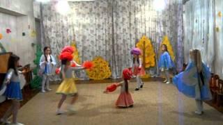 getlinkyoutube.com-Танец бабочек и цветов