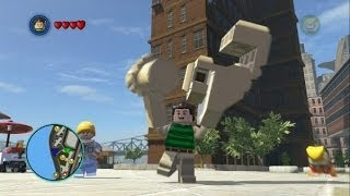 getlinkyoutube.com-LEGO Marvel Super Heroes - Sandman Free Roam Gameplay