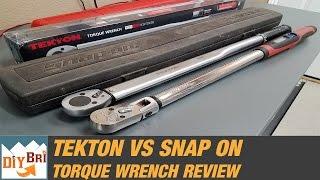 getlinkyoutube.com-Snap On Torque Wrench Vs Tekton | Best Torque Wrench?