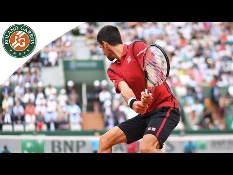 Roland-Garros 2016 Djokovic v Darcis Men`s Highlights / R2