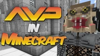 getlinkyoutube.com-Alien vs Predator in Minecraft - Alien vs Predator Mod Showcase