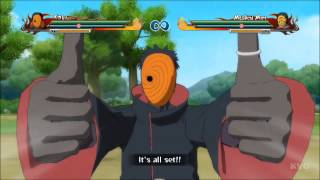 getlinkyoutube.com-Naruto Shippuden: Ultimate Ninja Storm Revolution - Tobi | Obito | All Ultimate Jutsu's [HD]