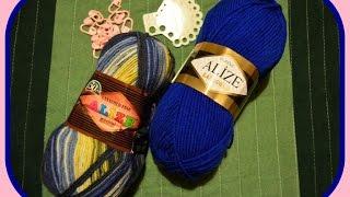 Мои покупки для вязания. Обзор пряжи. Интернет - магазин пряжи.