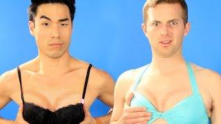 getlinkyoutube.com-The Try Guys Try Boob Contouring