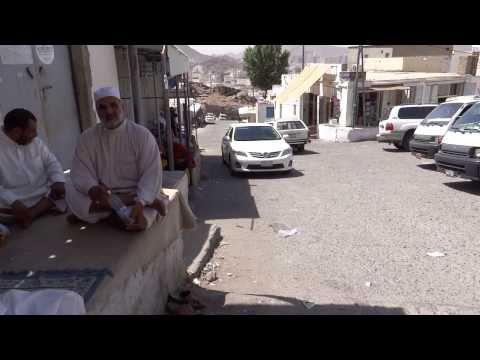 Towards Ghar-e-Hira jabl-e-noor on the mountain of Makkah 8 April 2013 in Saudi Arabia