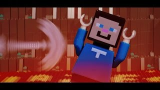 getlinkyoutube.com-LEGO Minecraft : Don't Dig Straight Down