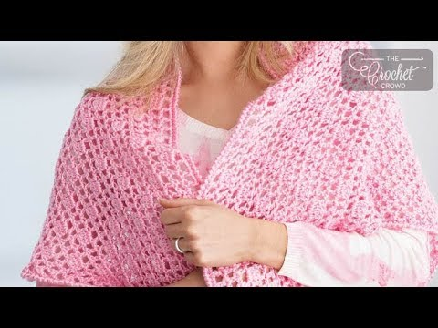 How to Crochet A Shawl: Prayer Shawl