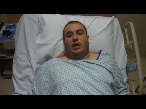 Cirurgia Bariátrica - Redução do estômago - Pós operatório 4º dia