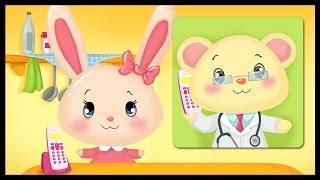 getlinkyoutube.com-Dessin animé Titounis pour enfants - Chez le docteur - Monde des petits