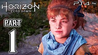 getlinkyoutube.com-Horizon Zero Dawn Walkthrough PART 1 (PS4 Pro) No Commentary Gameplay @ 1080p HD ✔