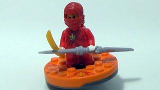 getlinkyoutube.com-Bela 닌자고 카이와 스피너 배틀 레고 짝퉁 게임 장난감 구입 조립기