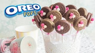 getlinkyoutube.com-Oreo Pops  | #8 Mesa dulce para Baby Shower | Quiero Cupcakes!