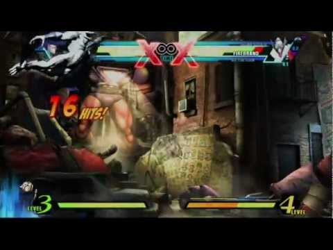 UMVC3: Vergil Solo Combo Video