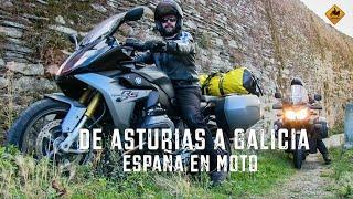 getlinkyoutube.com-España en Moto. De Asturias a Galicia. BMW R1200 RS