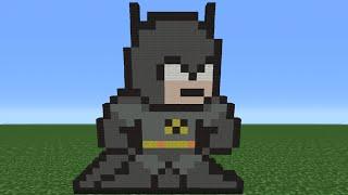 getlinkyoutube.com-Minecraft Tutorial: How To Make The Batman (8-Bit)