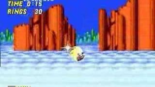 getlinkyoutube.com-Sonic 2: super sonic glitches