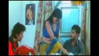 Sexy Bhabhi's Hot Dinner Special Cleavage Show width=
